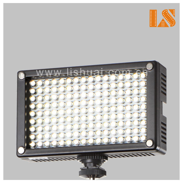 Single Color Video Camera LED Light Led144A  For Video Recording