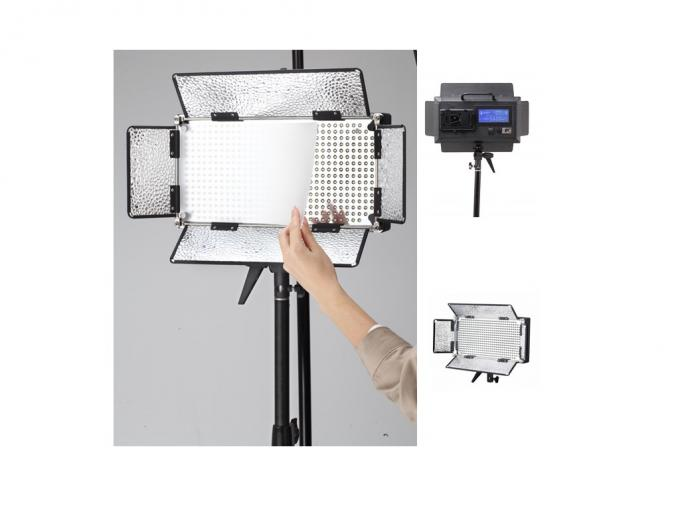 30W Dimmable Photography LED Broadcast Lighting 3200k - 5600k