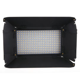 Professional Video Camera Lighting With Barndoors and LCD Touch Screen