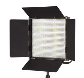 China Portable Plastic LED Continuous Photo Studio Lamp with LCD V Mount supplier