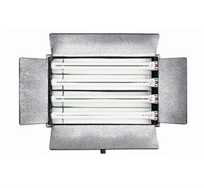 Metal Fluorescent Studio Lights , Broadcast  Fluorescent Video Lighting