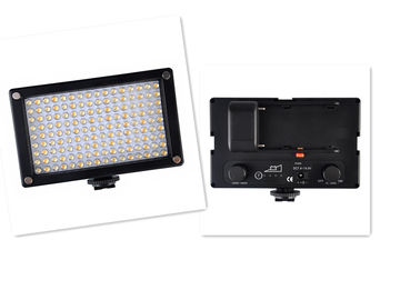 China Rechargeable Portable Led On Camera Light With Plastic Housing supplier