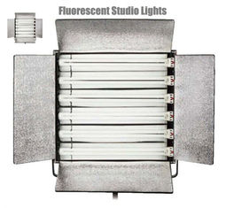 China CE Approved Fluorescent Studio Lights , Fluorescent Photography Lights supplier