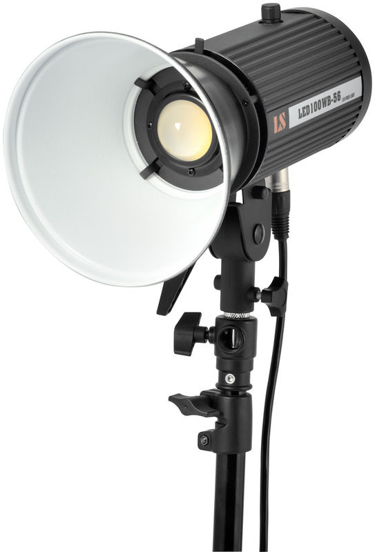 China Photo LED Fresnel Light 6000 Lux M Continuous Stage Supplier