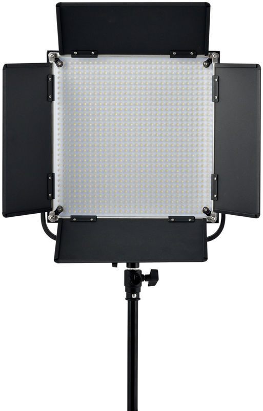china dimmable bi color studio led light panels with solid metal housing supplier