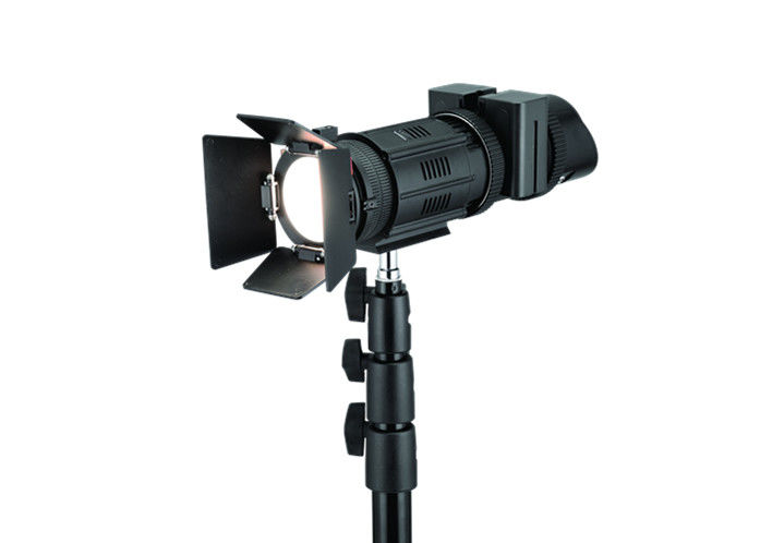 Portable Led Spot Light Kit Variable Focus Video Day With Filter