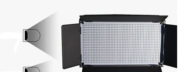 China High CRI Daylight Studio LED Light Panels For Photography 1260AV factory