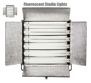 CE Approved Fluorescent Studio Lights , Fluorescent Photography Lights