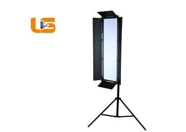 China Long Shape High Power 200W Bi Color LED Studio Photography Light With Barndoor P-2400ASVL factory