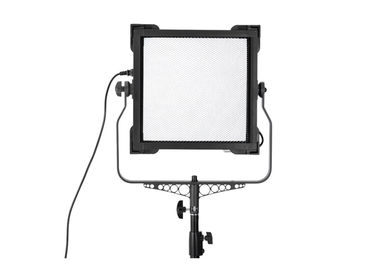 China VictorSoft 1x1 Square LED Studio Lights Bi-color Dimmable 100W Professional Studio Lighting factory