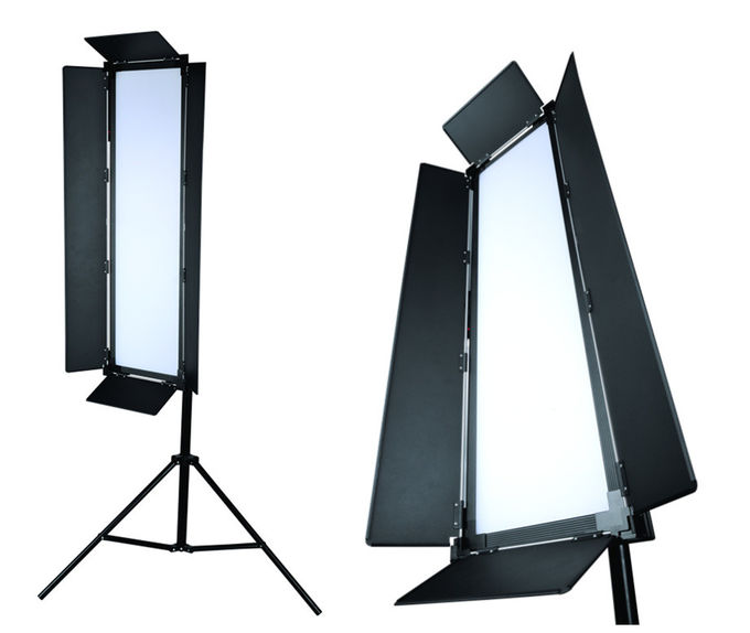 Aluminum High Power 200W Bi Color LED Photography Studio Light 120° Beam Angle