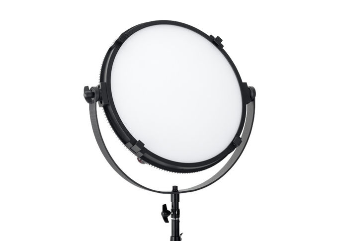 Alluminum Alloy Round Studio LED Light ,High CRI LED Studio Lighting VictorSoft 18
